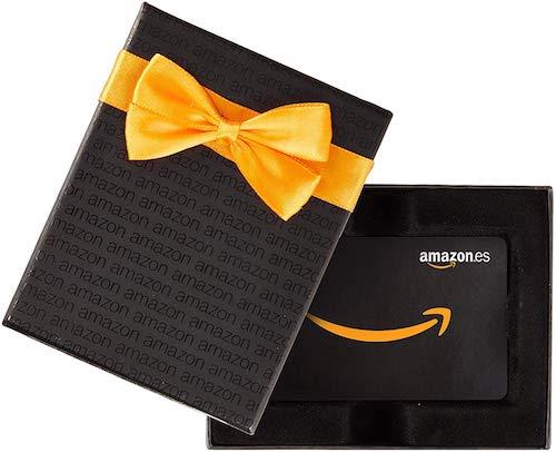 cheque regalo Amazon para mujer 50 años