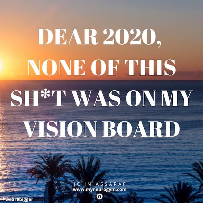 como hacer un tablero de vision o vision board