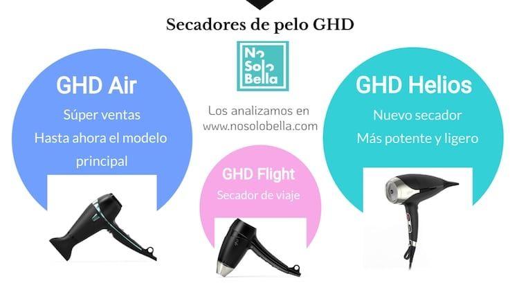 todos los modelos de secadores GHD