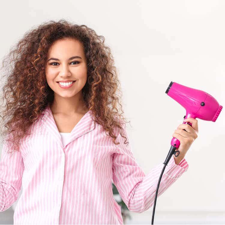 secadores de pelo rosa