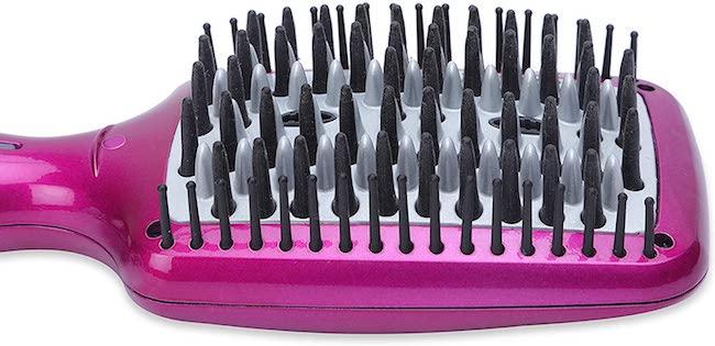 mejores cepillos alisadores de pelo babyliss color fucsia